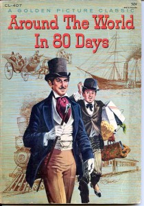 Poster for Oscar-winning film adaptation of Around the World in 80 Days