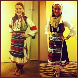 Milena in the latest Greek fashion
