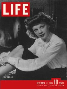 Judy Garland on cover of Time magazine