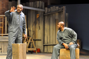 Michael A. Shepperd & Christopher Carrington in Fences