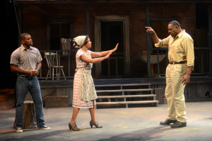 Jermelle Simon, Karole Foreman and Michael A. Shepperd in Fences at ICT