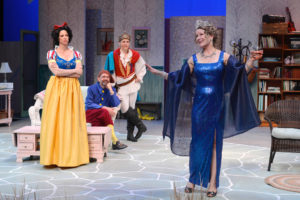 Leslie Stevens, Stephen Rockwell, Connor McRaith and Jennifer Parsons in Vanya and Sonia and Masha and Spike