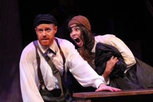 Jud Williford and Laurine Price in SHIPWRECKED!